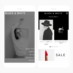 Black White Mobile